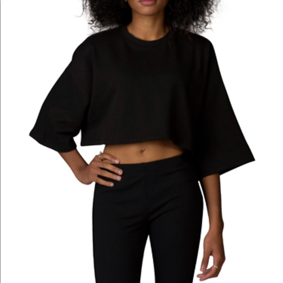 new concept 67bef 0d4c7 Puma Fenty Rihanna cropped sweatshirt top shirt NWT